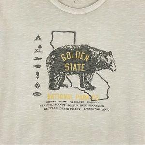 8d67e74b6 Lucky Brand Shirts - Lucky Brand | Golden State Graphic Tee Bear